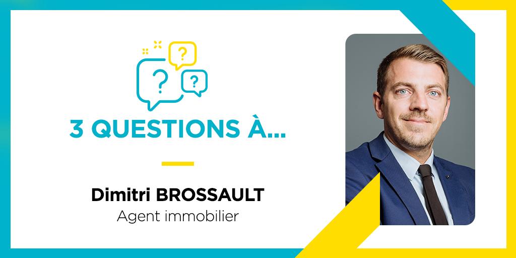 Dimitri Brossault, un professionnel qui se forme à l'ESI !