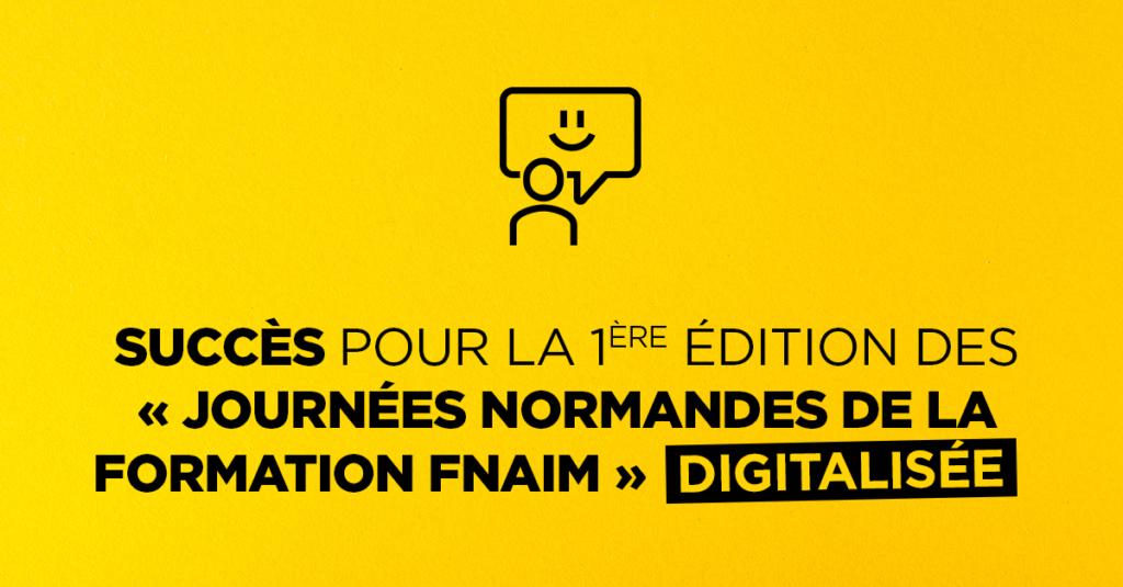 Retour sur la 1ère édition digitalisée des « Journées Normandes de la Formation »