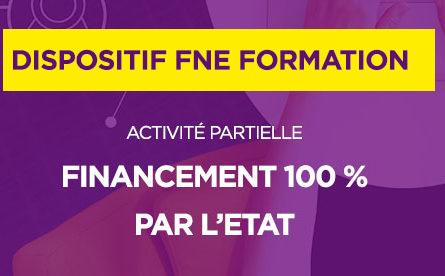 Affiche Dispositif FNE Formation activité partielle