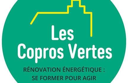 Logo Les Copros Vertes - Formation à la rénovation énergétique