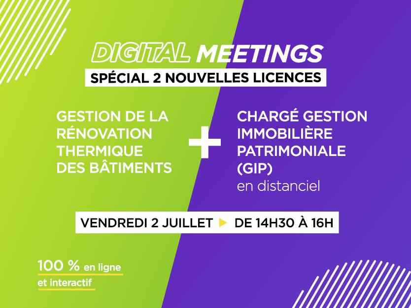 Digital Meetings - Nouvelles Licences ESI