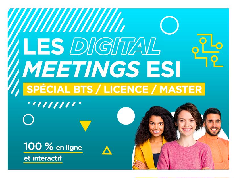 Les Digitals Meetings de l'ESI