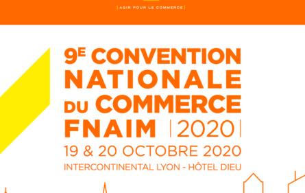 9ème Convention Nationale du Commerce FNAIM 2020