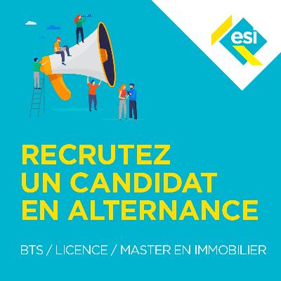 Recrutez un candidat de l'ESI en alternance, c'est maintenant !