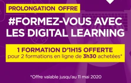 Prolongation offre Digital Learning