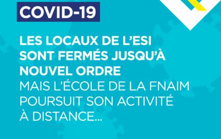 Covid-19 : locaux ESI fermés